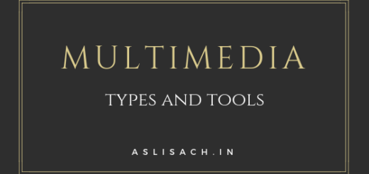 multimedia types and tools