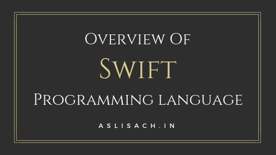 overview of swift language