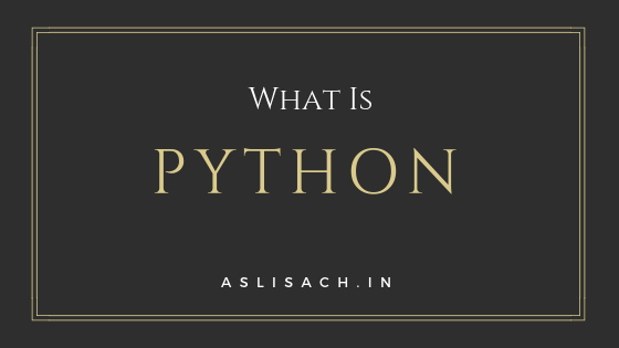 what is pthon