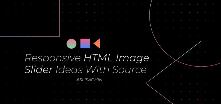 Responsive HTML Image Slider Ideas With Source
