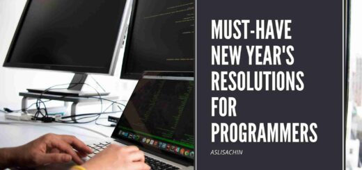 Must-Have New Year's Resolutions For Programmers